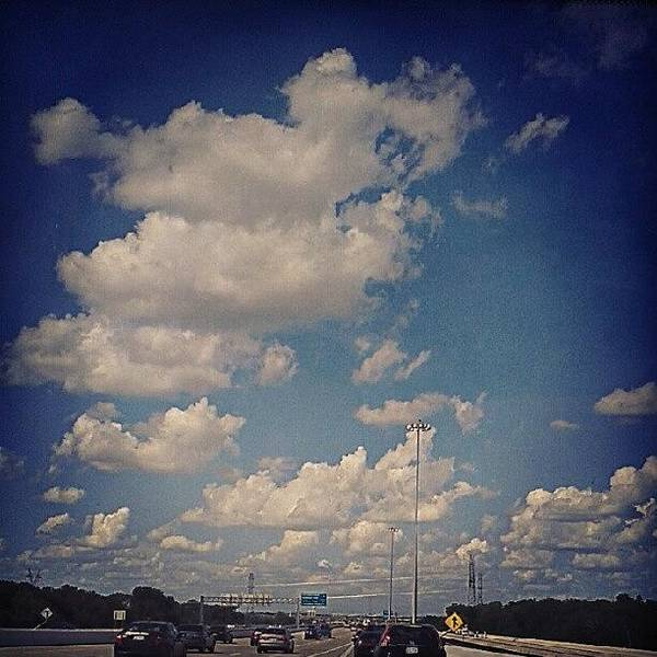 Wall Art - Photograph - Miles Of Clouds #instadroid by Kel Hill