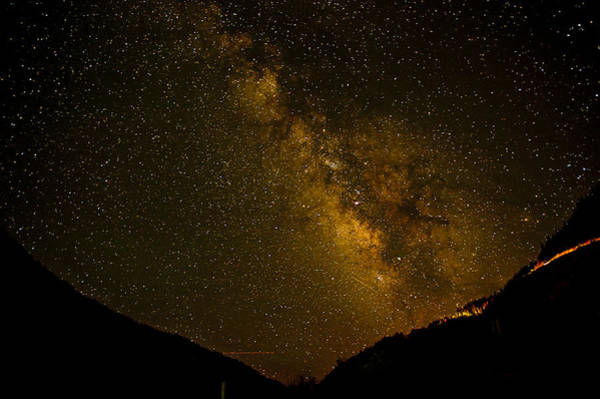 Photograph - Milky Way In The Mountains by Melany Sarafis