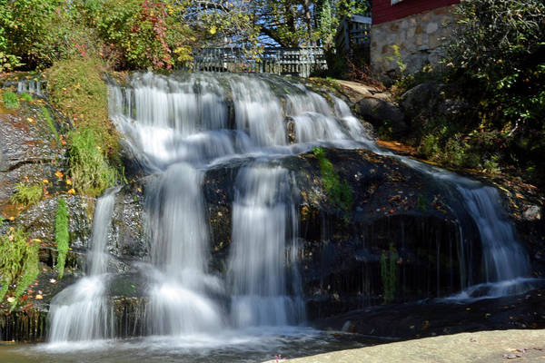 Photograph - Mill Shoals Falls by Bill Hosford