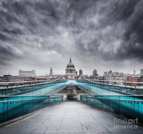Millenium Photograph - Millenium Bridge London by Martin Williams