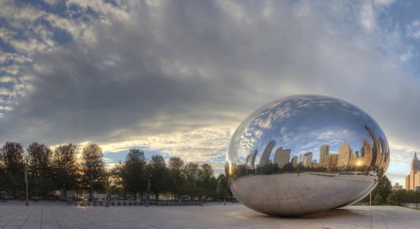 Millenium Photograph - Millennium Park Chicago by Twenty Two North Photography