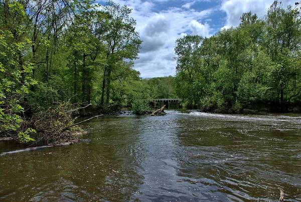 Somerset County Photograph - Millstone River At Rocky Hill 3 by Steven Richman