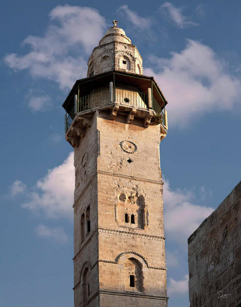 Church Of The Holy Sepulcher Photograph - Minaret Near The Church Of The Holy Sepulcher by Endre Balogh