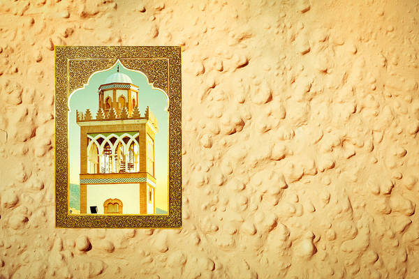Andalusian Wall Art - Photograph - Minaret Through A Window by Tom Gowanlock