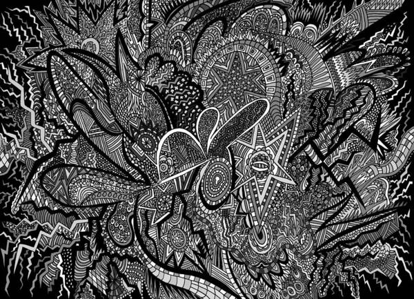 Wall Art - Drawing - Mind Map by Karen Elzinga