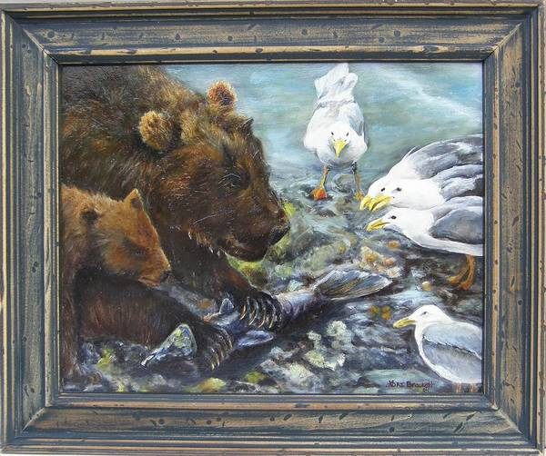 Painting - Mine Framed by Lori Brackett