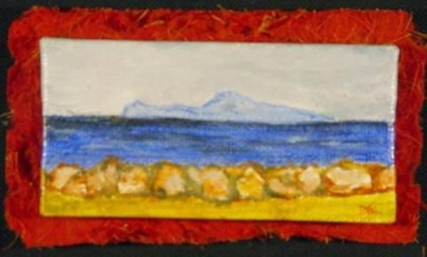 Painting - Miniature. Capri Italy by Antonella Manganelli