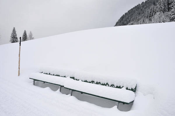 Photograph - Minimalist Winter Landscape With Lots Of Snow by Matthias Hauser