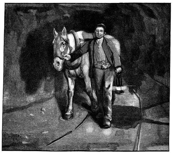 Lead Mine Wall Art - Photograph - Mining, 19th Century by