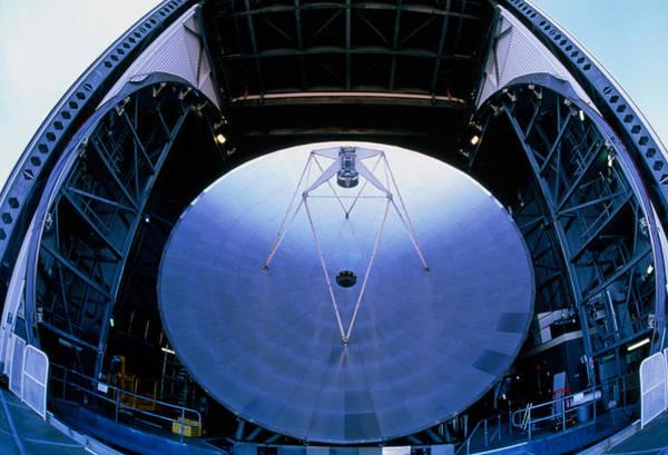 Tele Photograph - Mirrors Of The James Clerk Maxwell Telescope, Jcmt by David Nunuk