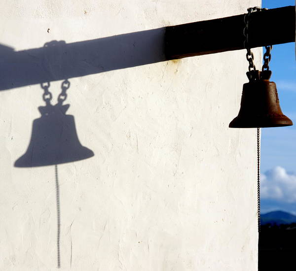 Photograph - Mission Bell  by Jeff Lowe