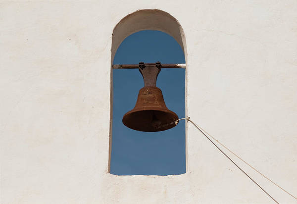 Photograph - Mission Bell Rope by Tom Singleton
