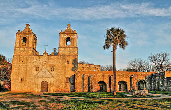 Photograph - Mission Concepcion Hdr II by Sarah Broadmeadow-Thomas