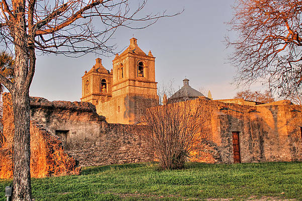 Photograph - Mission Concepcion Hdr by Sarah Broadmeadow-Thomas