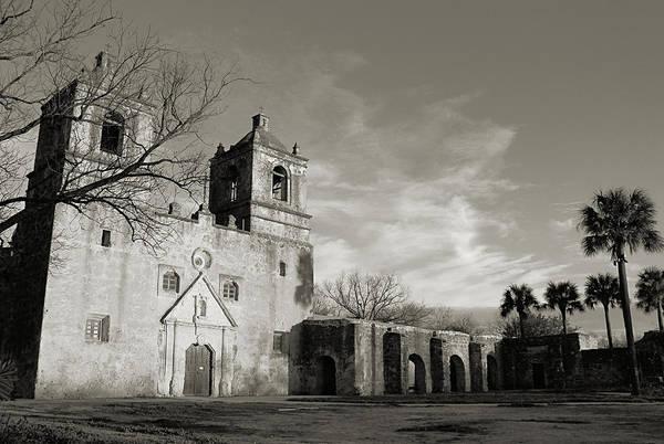 Photograph - Mission Concepcion IIII by Sarah Broadmeadow-Thomas