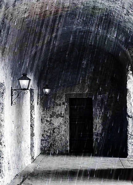 Photograph - Mission Concepcion Walkway by Sarah Broadmeadow-Thomas