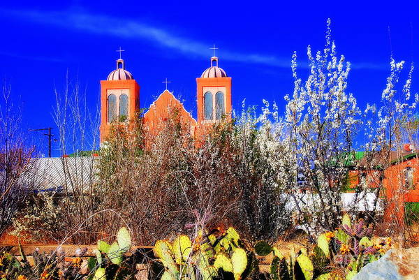 Photograph - Mission In Silver City Nm by Susanne Van Hulst