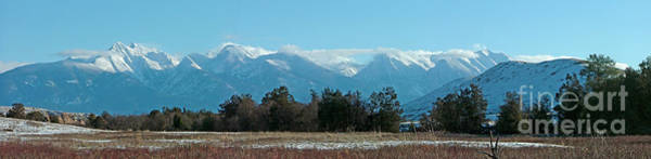 Photograph - Mission Mountain Range Panoramic by Katie LaSalle-Lowery