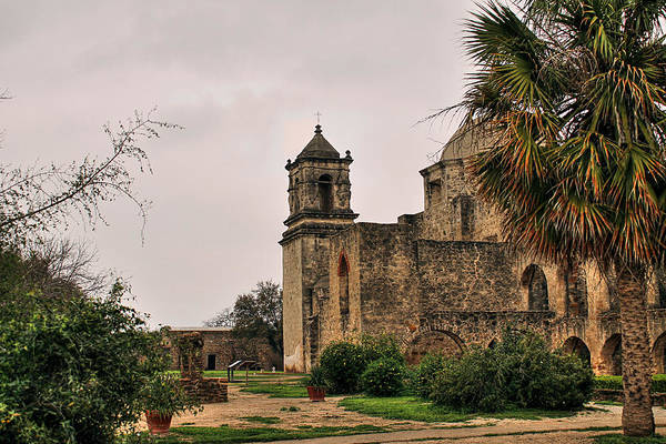 Photograph - Mission San Jose In Hdr by Sarah Broadmeadow-Thomas