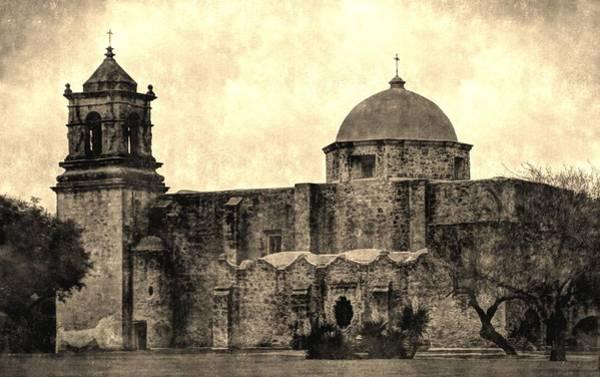 Photograph - Mission San Jose Vintage by Sarah Broadmeadow-Thomas