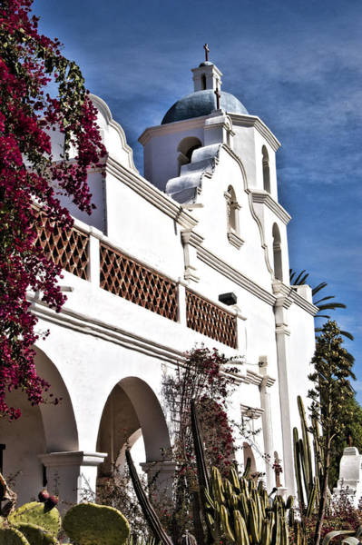 San Luis Rey De Francia Photograph - Mission San Luis Rey I by Jon Berghoff