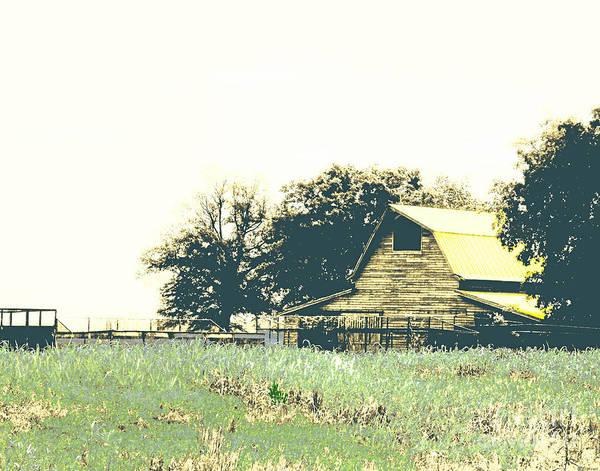 Digital Art - Mississippi Farm Old Highway 61  by Lizi Beard-Ward