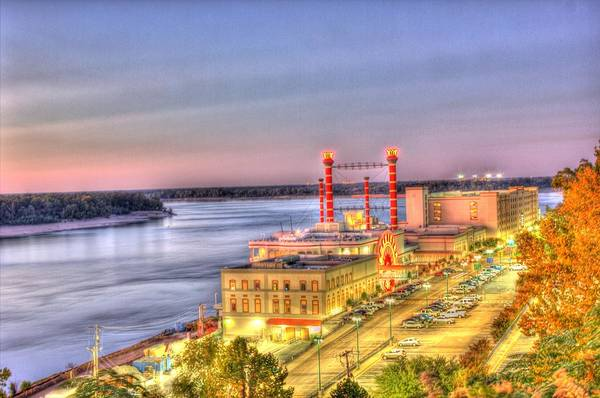 Photograph - Mississippi River Casino-hdr by Barry Jones