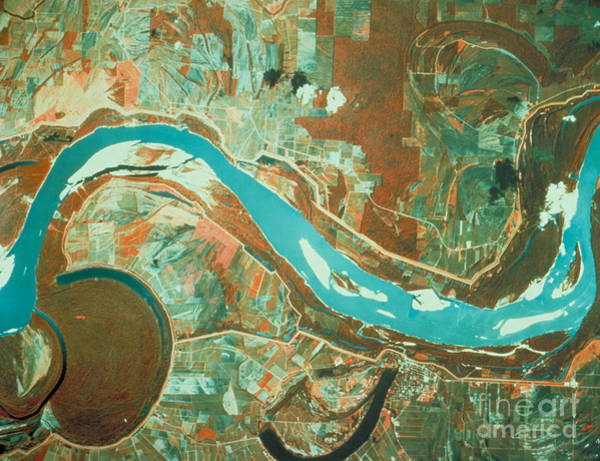 Photograph - Mississippi River by Nasa