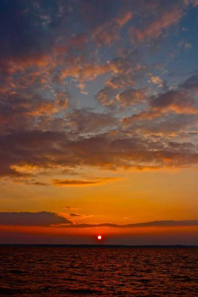 Photograph - Mississippi Sunset 1 by Jim Albritton