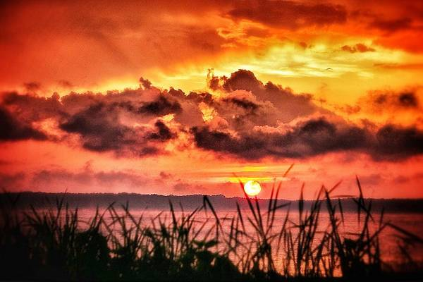 Mississippi Sunset At The Ross Barnett Reservoir 1 Art Print