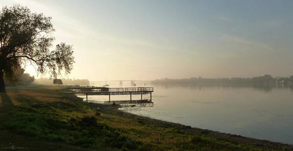Photograph - Misty Morning On The Bay by Tim Nyberg