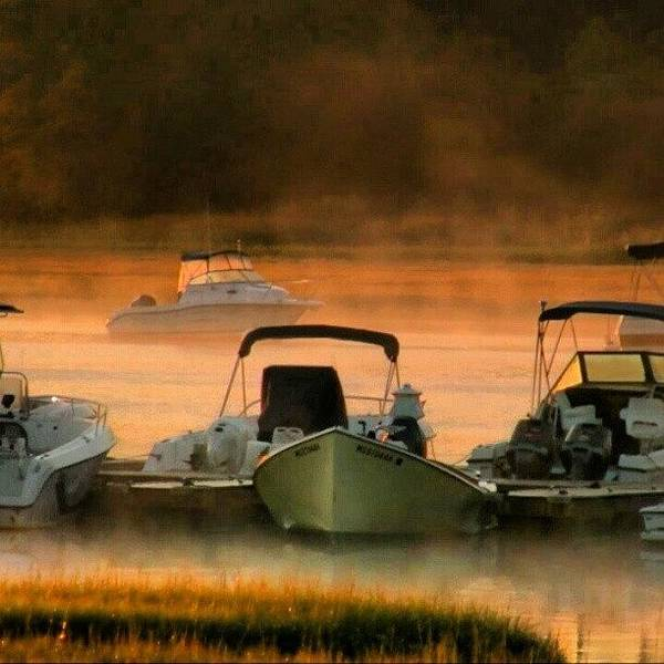 Run Wall Art - Photograph - Misty Morning On The North River, Near by Hit And Run History