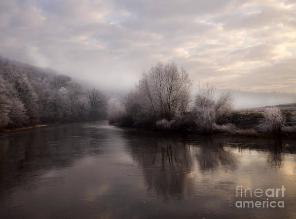 Wall Art - Photograph - Misty Sunset by Angel Ciesniarska