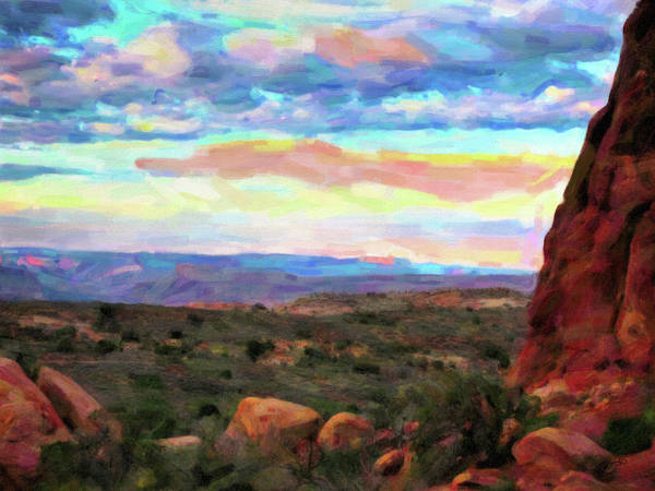 Digital Art - Moab Sky by Gary Baird