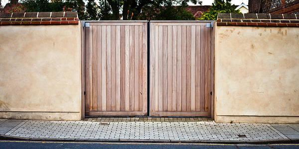 Boundaries Wall Art - Photograph - Modern Gate by Tom Gowanlock