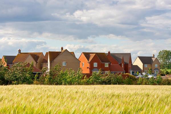 Housing Development Photograph - Modern Housing  by Tom Gowanlock