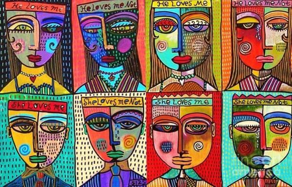 Painting - Modern Love by Sandra Silberzweig