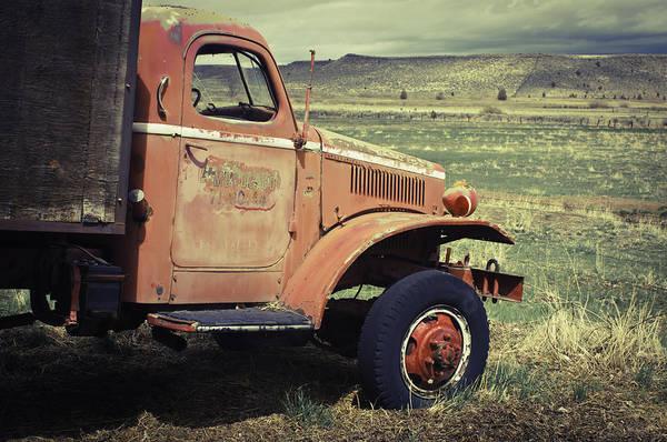 Photograph - Modoc County Fire Truck by Sherri Meyer