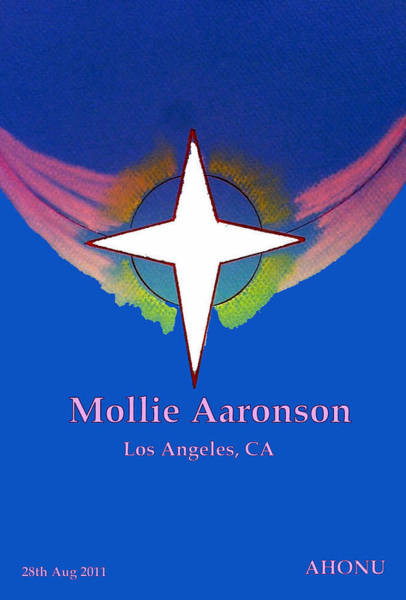 Painting - Mollie Aaronson by Ahonu
