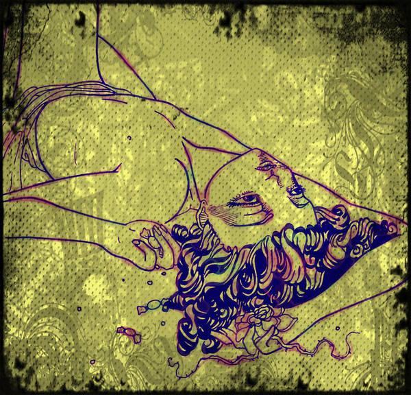 Katrina Digital Art - Molly Of Dust And Thorns by Katrina Slater