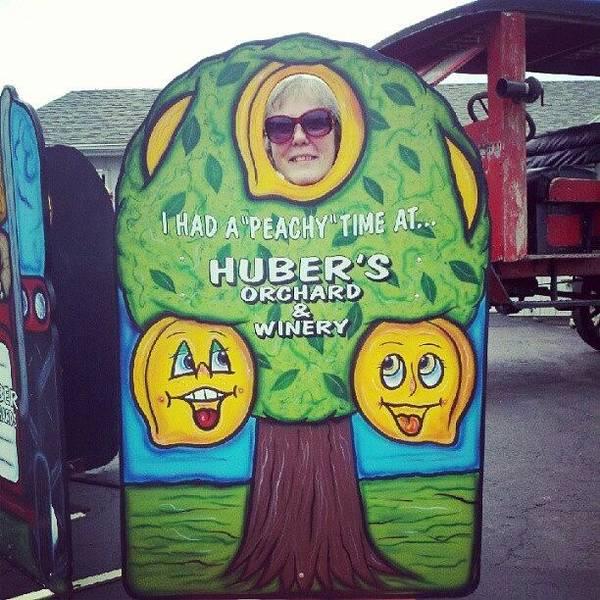 #mom #hubers #indiana #funny Art Print