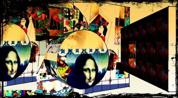 Painting - Mona's World by Ana Johnson