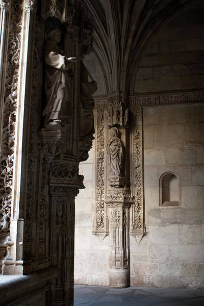 Photograph - Monastery Art And Architecture by Lorraine Devon Wilke