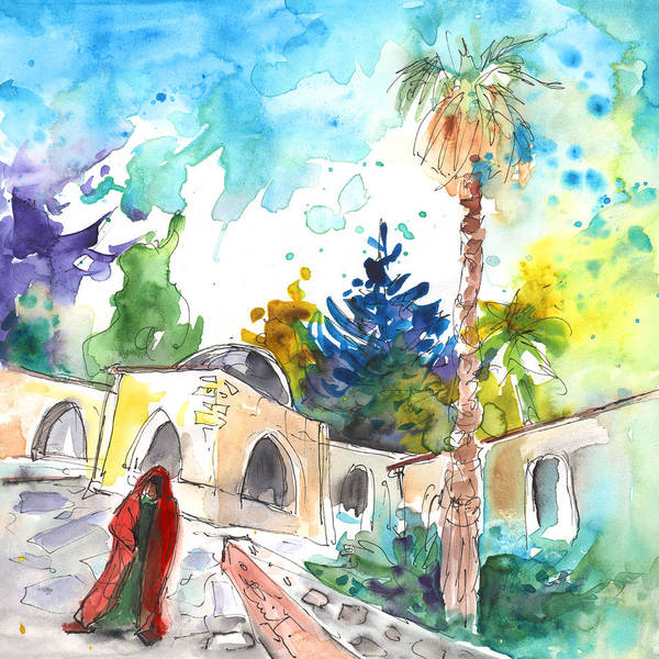 Painting - Monastery In Ayia Napa by Miki De Goodaboom