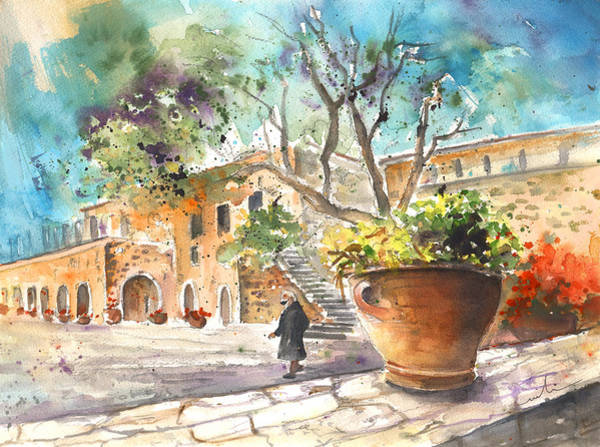 Painting - Monastery Of Asomatos by Miki De Goodaboom