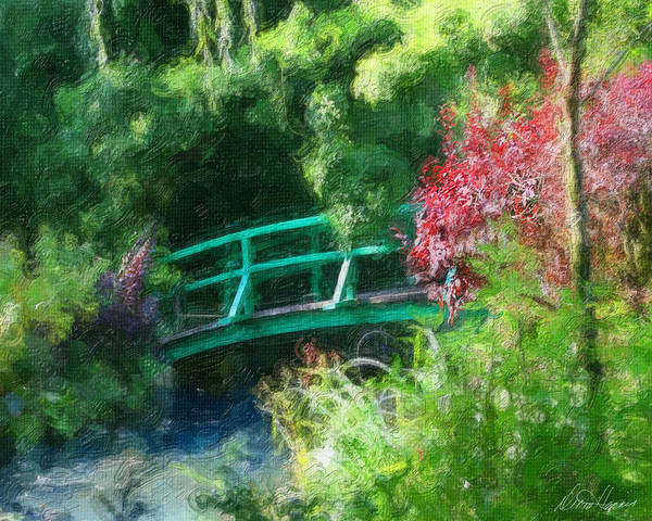 Photograph - Monet's Garden by Diana Haronis