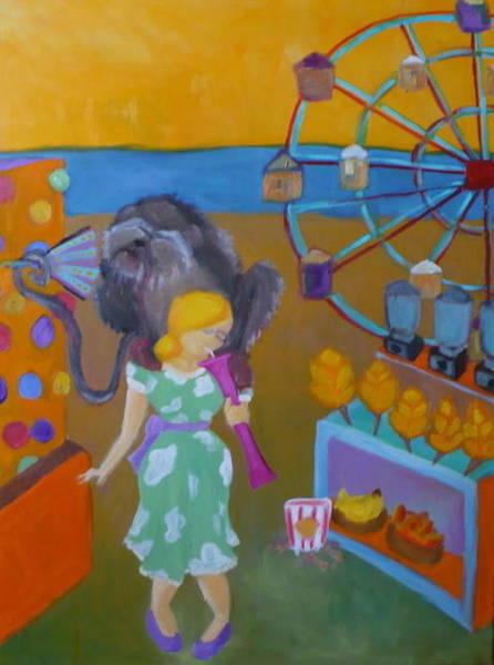 Monkey On My Back Art Print