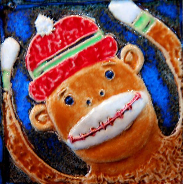 Sock Monkey Photograph - Monkey Sock Around by LeeAnn McLaneGoetz McLaneGoetzStudioLLCcom