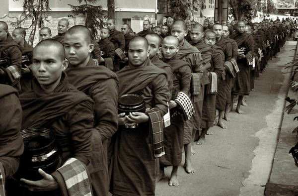 Photograph - Monks In The Monastery by RicardMN Photography