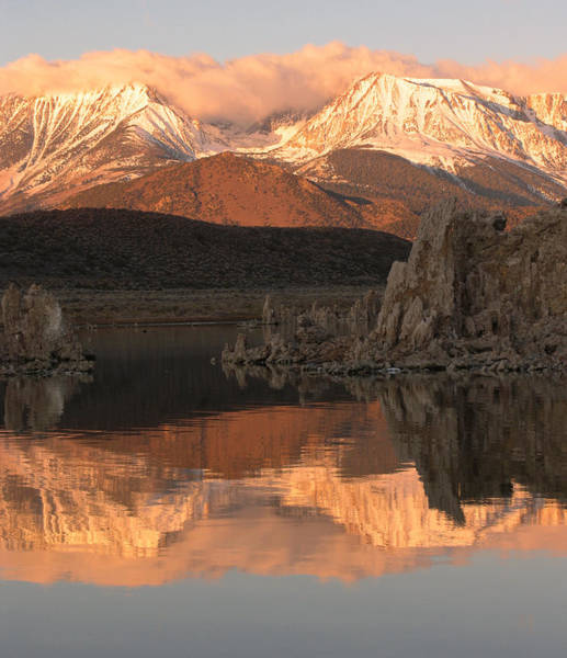 Photograph - Mono Lake Reflection Sunrise by Tony and Kristi Middleton